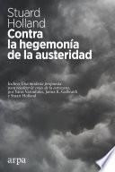Contra la hegemonía de la austeridad