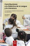 Contribuciones a la Didáctica de la Lengua y la Literatura