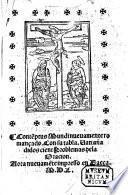 Contēptus mundi nueuamēte romançado by Luis de Granada . B.L.