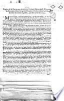 Copia de la carta, que escribio el Colegio Mayor de S. Clemente de Bolonia a don Gregorio Mayans, i Siscar sobre la Vida de don Antonio Agustin, que dio a luz en 1734