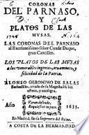 Coronas del Parnaso y Platos de las Musas, etc