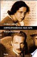 Correspondencia 1925-1975 y otros documentos de los legados