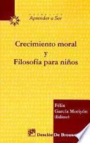 Crecimiento moral y filosofía para niños