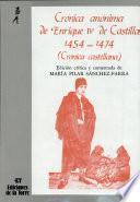 Crónica anónima de Enrique IV de Castilla 1454-1474 (II tomos)