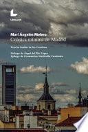 Crónica mínima de Madrid