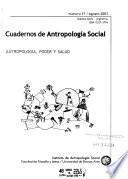 Cuadernos de antropología social