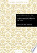Cuartetos de cuerda Vol. 9
