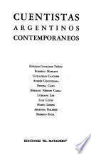 Cuentistas argentinos contemporaneos