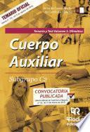Cuerpo Auxiliar. Subgrupo C2. Temario y test. Volumen 3. Ofimática. Junta de Comunidades de Castilla-La Mancha