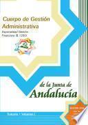 Cuerpo de Gestion Administrativa. Especialidad Gestion Financiera. (b.1200). Temario. Volumen I.e-book.