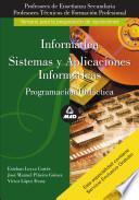 Cuerpo de Profesores de Enseñanza Secundaria. Informatica. Programacion Didactica Ebook