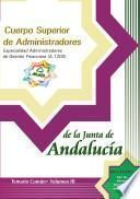 Cuerpo Superior de Administradores. Especialidad Administradores de Gestion Financiera (a.1200) de la Junta de Andalucia. Temario. Volumen Iii Ebook