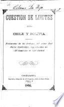 Cuestión de límites entre Chile y Bolivia
