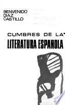 Cumbres de la literatura española