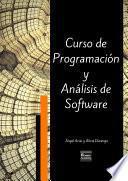 Curso de Programación y Análisis de Software - Tercera Edición