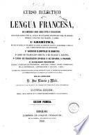 Curso ecléctico de lengua francesa