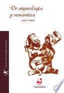 De arqueología y semántica