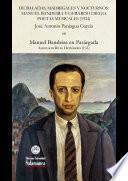 De baladas, madrigales y nocturnos: Manuel Bandeira y Gerardo Diego, poetas musicales (1924)