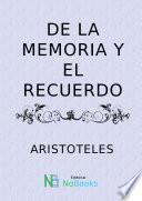 De la memoria y el recuerdo
