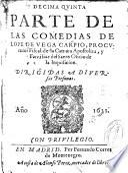 Décima quinta parte de las comedias de Lope de Vega Carpio...
