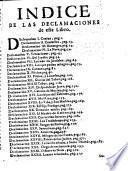 Declamaciones sacras, politicas, y morales sobre los Euangelios todos de la Quaresma ...