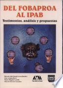 Del Fobaproa al IPAB