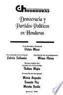 Democracia y partidos políticos en Honduras