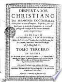DESPERTADOR CHRISTIANO DE SERMONES DOCTRINALES