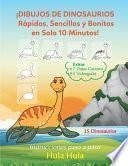 ¡Dibujos de Dinosaurios Rápidos, Sencillos y Bonitos en Solo 10 Minutos! Instrucciones paso a paso, Extras