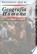 Diccionario Akal de Geografía Humana