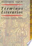 Diccionario Akal de Términos Literarios