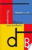 Diccionario Bfblico Para Estudiantes