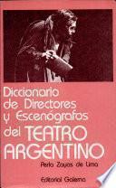 Diccionario de directores y escenógrafos del teatro argentino