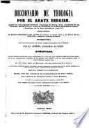 Diccionario de teología: J-Pus (1846. 843 p.)