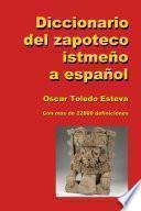 Diccionario del zapoteco istmeño a español