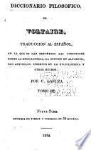 Diccionario filosofico