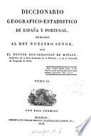 Diccionario geografico-estadistico de España y Portugal: Barqueros-Castro de Caldelas (Praesidium), 1826