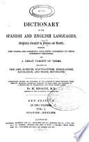 Dictionary of the Spanish & English Languages ...