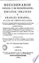 Dictionnaire portatif et de prononciation, Espagnol-Français et Français-Espagnol, 2