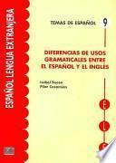 Diferencias de usos gramaticales entre español e inglés
