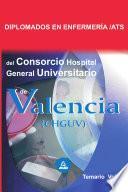 Diplomado en Enfermeria/ats Del Consorcio Hospital General Universitario de Valencia. Temario Volumen Iii Ebook