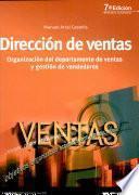 DIRECCION DE VENTAS. Organización del departamento de ventas y gestión de vendedores.