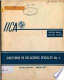 Directorio de Relaciones Oficiales no. 6