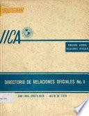 Directorio de Relaciones Oficiales No. 8