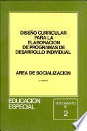 Diseño curricular para la elaboroción de programas de desarrollo individual