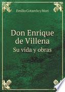 Don Enrique de Villena