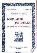 Doña Maria de Padilla. La cena de los cardenales, de Julio Dantas