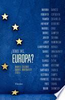 ¿Dónde vas, Europa?
