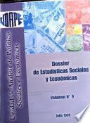Dossier de estadísticas sociales y económicas de Bolivia