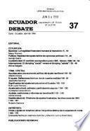 Ecuador debate